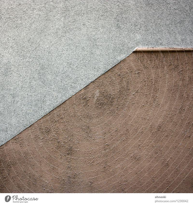 Tristesse Haus Bauwerk Gebäude Architektur Fassade Putz Müdigkeit Langeweile Farbfoto Gedeckte Farben Außenaufnahme abstrakt Muster Strukturen & Formen