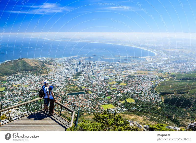 I love Capetown #3 Mensch Ferien & Urlaub & Reisen Jugendliche Stadt Junge Frau Meer Landschaft Junger Mann Ferne 18-30 Jahre Erwachsene Berge u. Gebirge Paar