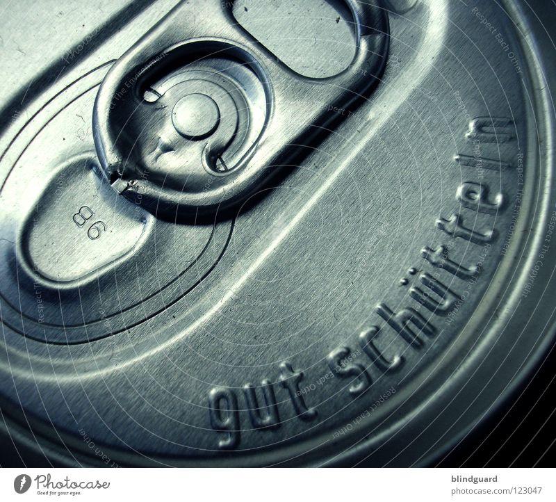 Shake It Baby Umwelt Metall Energiewirtschaft geschlossen rund Sicherheit Getränk Gastronomie gut Material Erfrischung silber Durst spritzen Umweltverschmutzung Dose