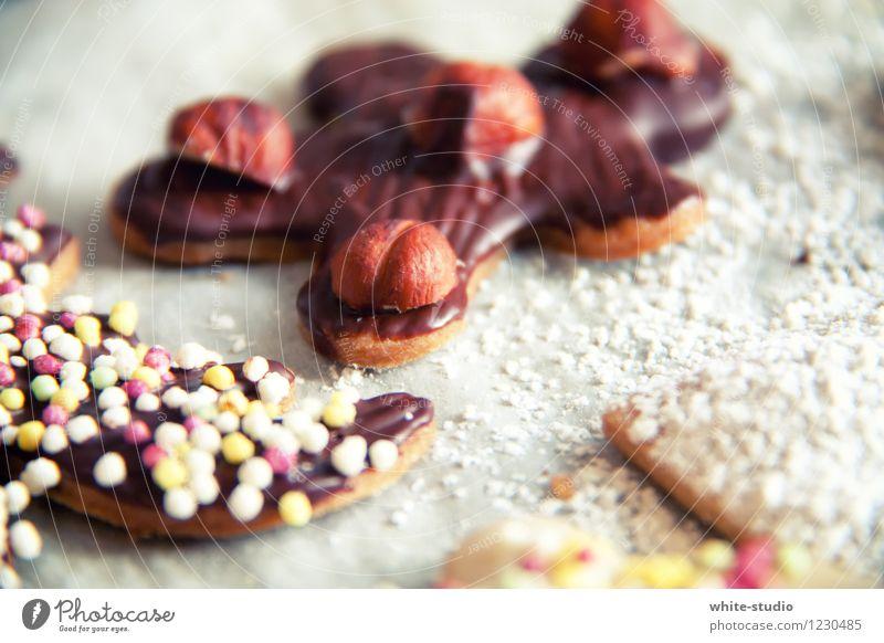 Plätzchenparty Mensch Kind Weihnachten & Advent schön Freude Winter Essen Foodfotografie Feste & Feiern Dekoration & Verzierung Geburtstag Ernährung