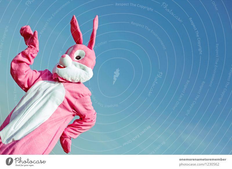 bunny style Kunst Kunstwerk ästhetisch rosa Hase & Kaninchen Hasenohren Hasenjagd Hasenzahn Kostüm Karnevalskostüm Freude spaßig Spaßvogel Spaßgesellschaft