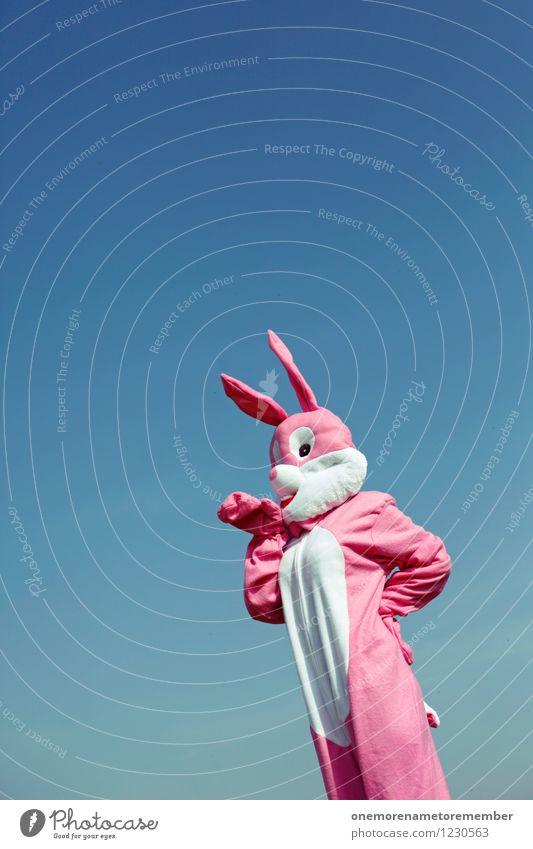 carrot lover Freude Kunst rosa stehen ästhetisch warten Fell Karneval Hase & Kaninchen Kunstwerk Kostüm Karnevalskostüm spaßig Spaßvogel Hasenbraten Hasenohren