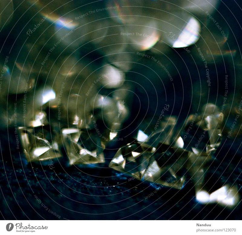 Materieller Reichtum schön Kunst glänzend Dekoration & Verzierung Glas Erfolg Ecke Kitsch Tiefenschärfe Schmuck eckig reich Kristallstrukturen hart edel