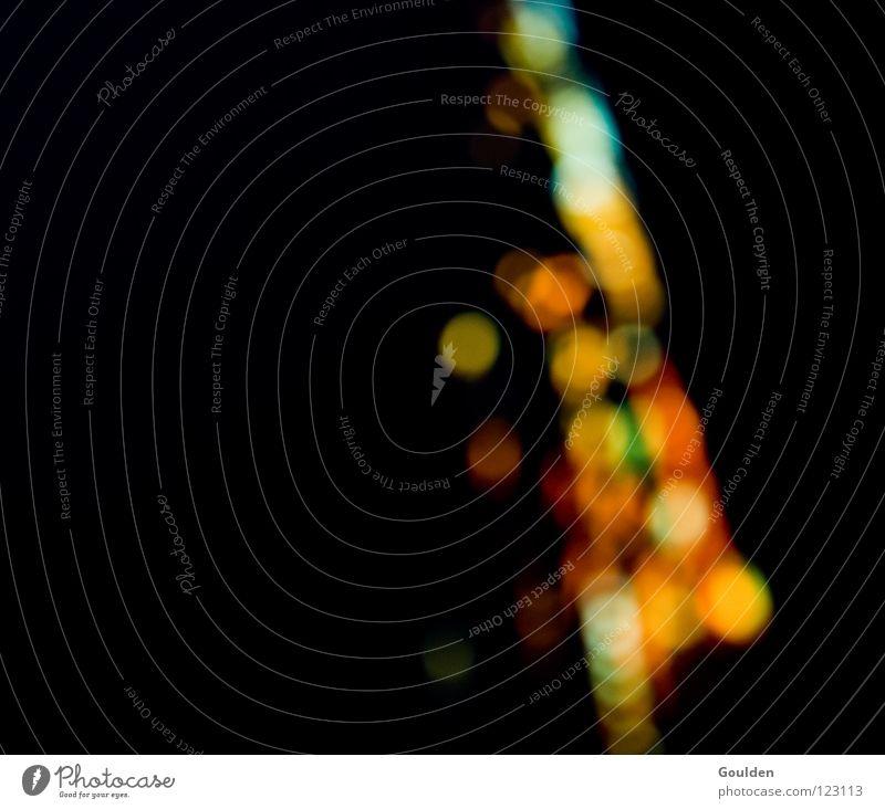 Völkerfreundschaft Licht Unschärfe Hintergrundbild schwarz mehrfarbig dunkel Farbe Lichtpunkt Lichtfleck Lichtspiel Farbenspiel Hintergrund neutral