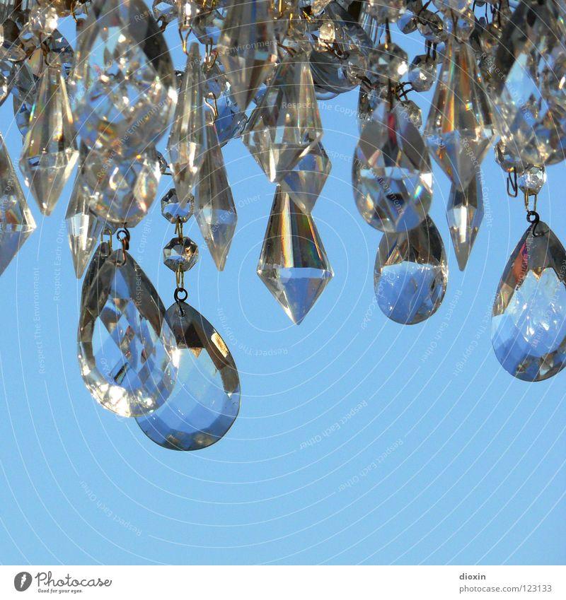 Flohmarktjuwelen #1 Himmel blau Kunst glänzend Glas Schmuck edel Kristallstrukturen Diamant Schatz brilliant Kostbarkeit Kunsthandwerk teuer Fälschung Edelstein
