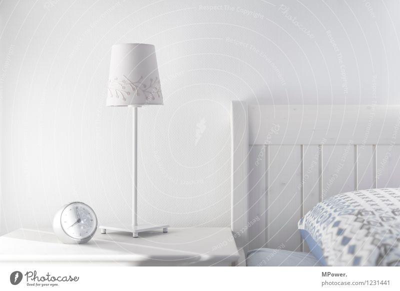 guten morgen schlafen Uhr Technik & Technologie Coolness hell Wecker Lampe weiß Nachttisch Möbel Uhrenzeiger Morgenmuffel Schlafzimmer Tischlampe Lampenschirm