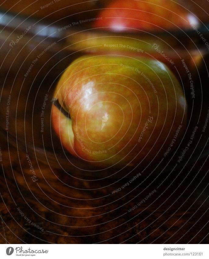 Vitamin C hoch Glasschüssel Glasschale Geschirr verschönern Gesundheit Inhalt fruchtig genießen herzhaft Ernährung Frucht Apfel Schalen & Schüsseln