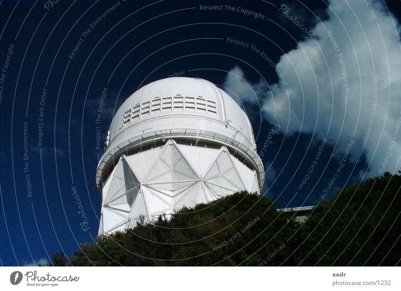 Den Sternen nah Himmel weiß blau Wolken Stern Stern (Symbol) USA Wissenschaften Weltall Arizona Astronomie Observatorium Kitt Peak National Observatory