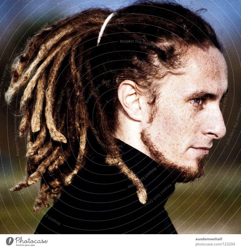 ::Sideways:: Mensch grün blau schwarz Gefühle Haare & Frisuren Mund maskulin Nase Ohr lang analog Wildtier bleich Sommersprossen
