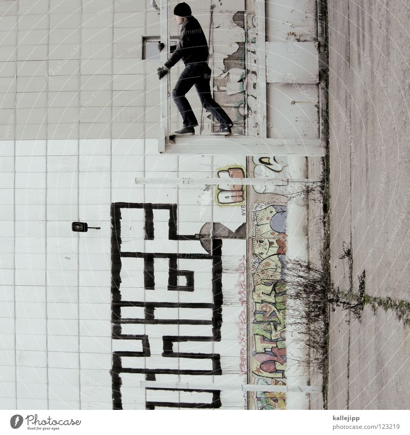 policy of truth Mensch Himmel Mann Hand Stadt Haus Fenster Berge u. Gebirge Gefühle Architektur springen See Lampe Luft Linie Tanzen