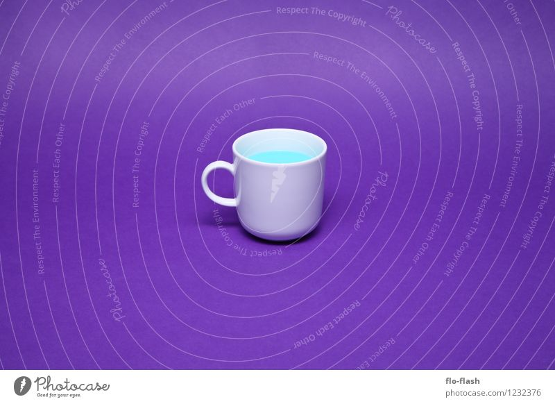 NEO COFFEE // SLEEP WELL blau schön Leben Stil Gesundheit Lifestyle Lebensmittel Kunst Design Getränk süß retro Wellness violett Kitsch Kunststoff
