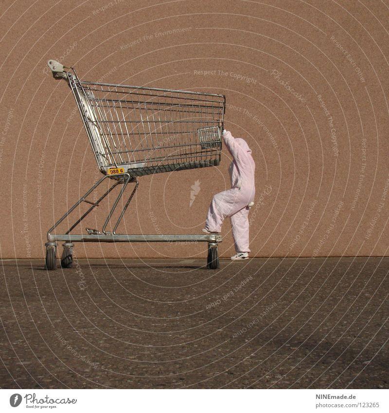 HasenMission | 2008 - eroberung Hase & Kaninchen Ostern rosa klein komplex kaufen Einkaufskorb Kunst Parkplatz Feiertag Wochenende Osterei schieben hoch
