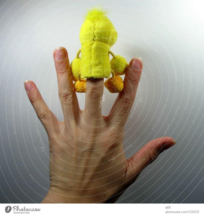 EntenShoot | Du kannst mich mal... Hand Freude gelb Spielen Haare & Frisuren lustig Fuß Kindheit Schuhe Rücken Arme Finger Spielzeug 5 Punk