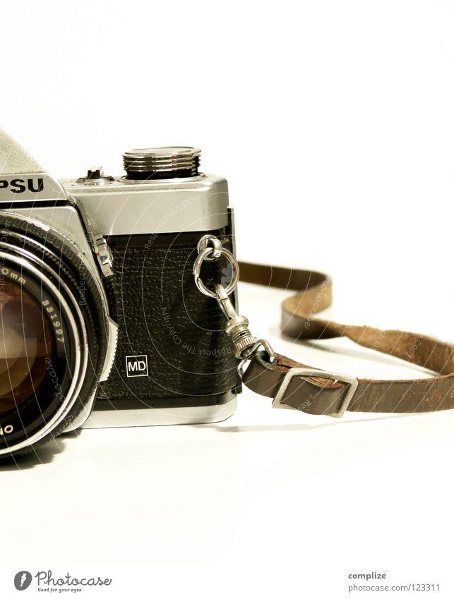 Photoapparat 71 Freizeit & Hobby Ferien & Urlaub & Reisen Fotokamera Technik & Technologie Printmedien Leder alt festhalten historisch retro Leidenschaft