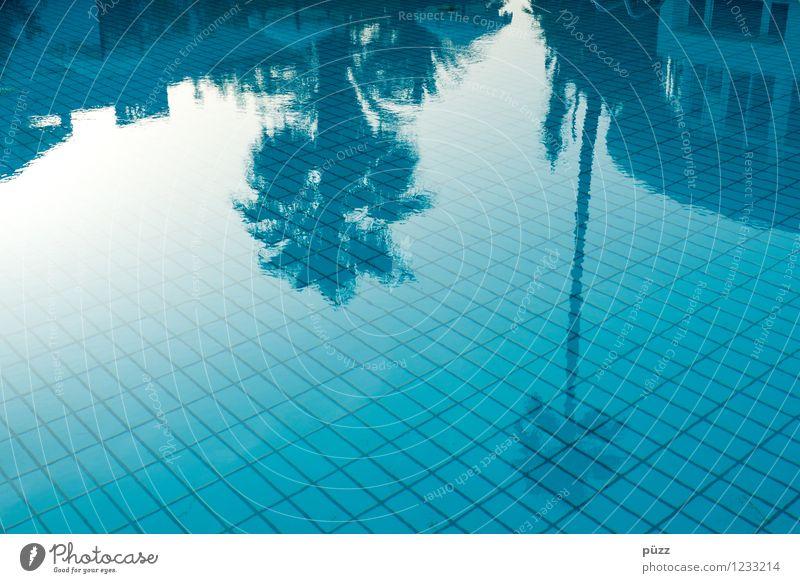 Pool Ferien & Urlaub & Reisen blau Sommer Sonne Erholung kalt Wärme Sport Schwimmen & Baden Tourismus nass Wellness Schwimmbad Wohlgefühl Hotel heiß