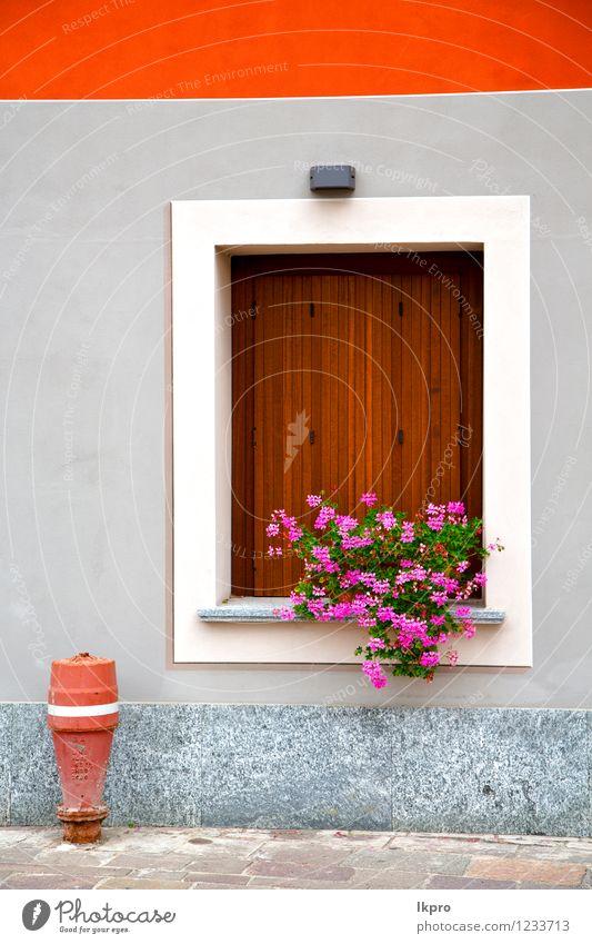 Cavaria Varese Italien Auszug Teller Ferien & Urlaub & Reisen Ausflug Haus Architektur Fassade Beton Rost alt dreckig historisch braun rot schwarz Sicherheit