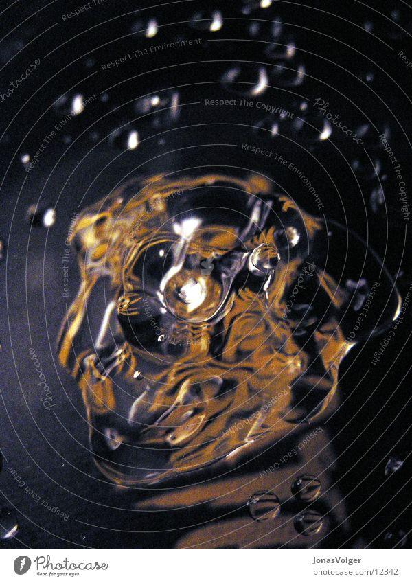 Formen des Wassers 1 Schall schwingen Makroaufnahme Nahaufnahme Bewegung Strukturen & Formen Wassertropfen