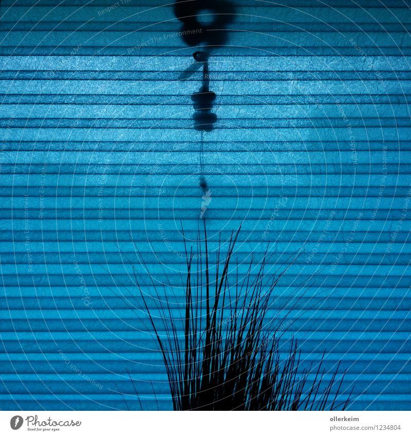 ich seh' blau Häusliches Leben Wohnung Haus Innenarchitektur Dekoration & Verzierung Raum Wohnzimmer Kinderzimmer Schlafzimmer Fenster Blick elegant Schutz