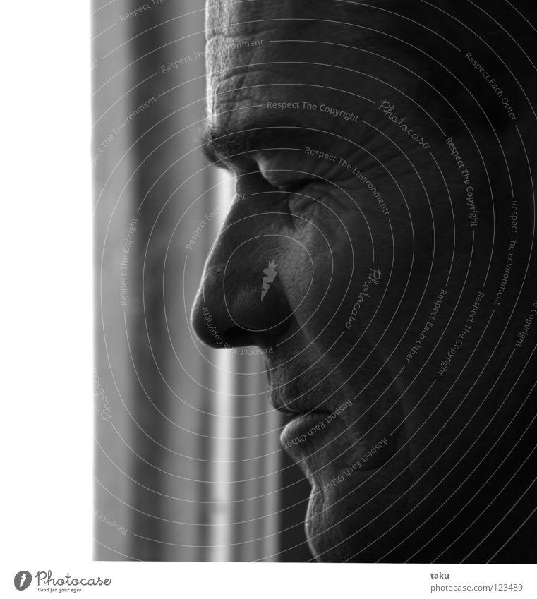 ROB Mann Surfer Porträt Wange geschlossene Augen Augenbraue Wimpern Lippen Zufriedenheit träumen Konzentration Wiedersehen Umarmen Strand Pub rob Gesicht