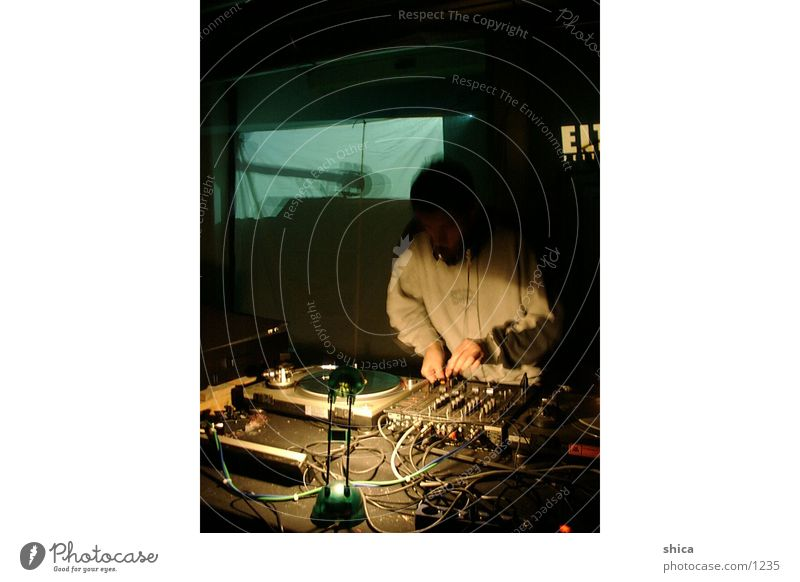 dj@work Mann Musik Veranstaltung Diskjockey live
