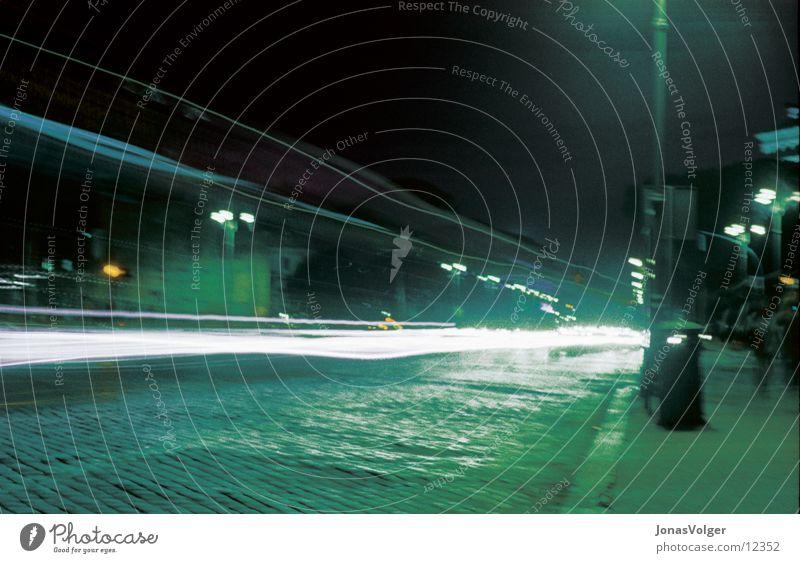 Verkehr Nacht Fototechnik Abend Licht Farbe