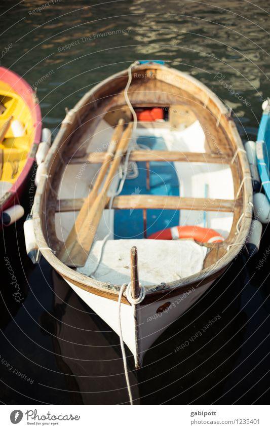bootstour Ferien & Urlaub & Reisen Sommer Sonne Erholung Meer ruhig Strand Freiheit Wasserfahrzeug Tourismus frisch Ausflug Italien Abenteuer
