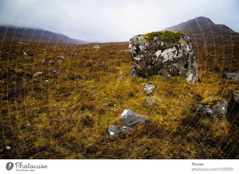 Highlands Ferien & Urlaub & Reisen Tourismus Ausflug Abenteuer Ferne Freiheit Klettern Bergsteigen wandern Umwelt Natur Landschaft Pflanze Urelemente Erde
