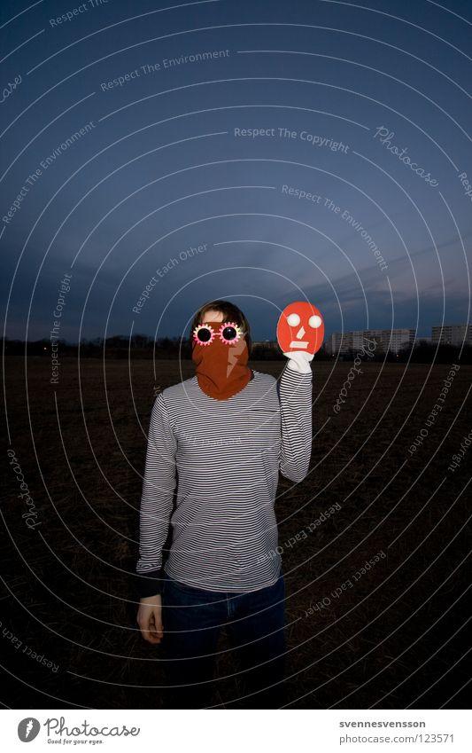 Captain James PingPong Mensch Mann Gesicht Spielen Haare & Frisuren Freizeit & Hobby Arme Ball Maske Karneval anonym Karnevalskostüm Sportgerät unsichtbar