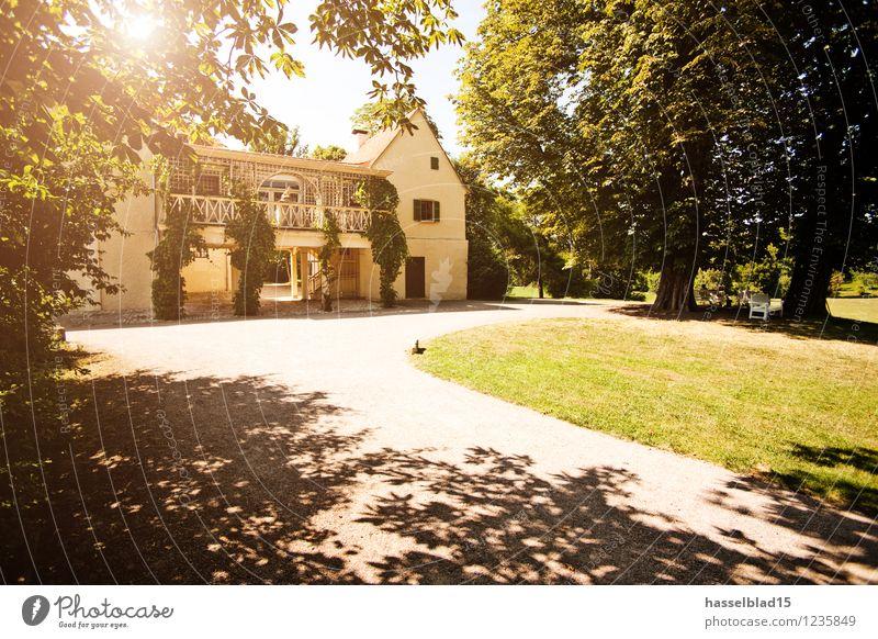 Tiefurt Ferien & Urlaub & Reisen Sommer Baum Erholung ruhig Haus Wiese Glück Garten Lifestyle Park Zufriedenheit Tourismus wandern Wellness Burg oder Schloss