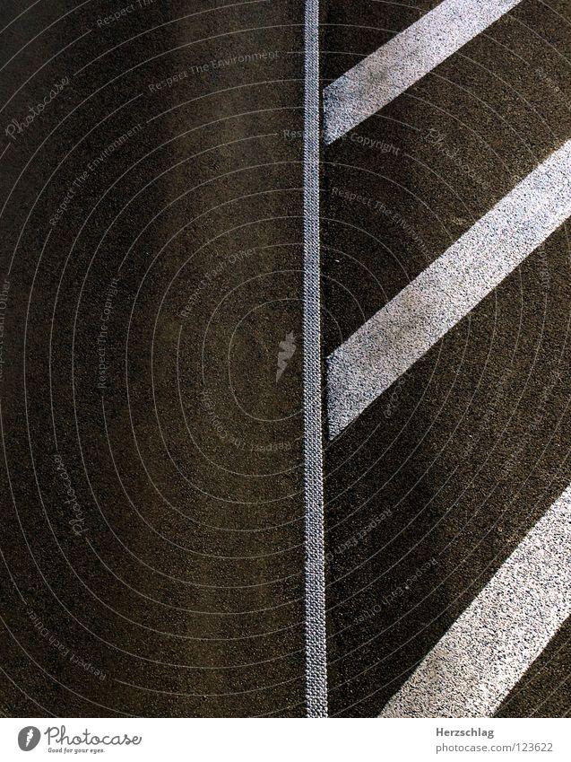 Düüüüsen weiß Straße grau Wege & Pfade Geschwindigkeit Streifen Verkehrswege
