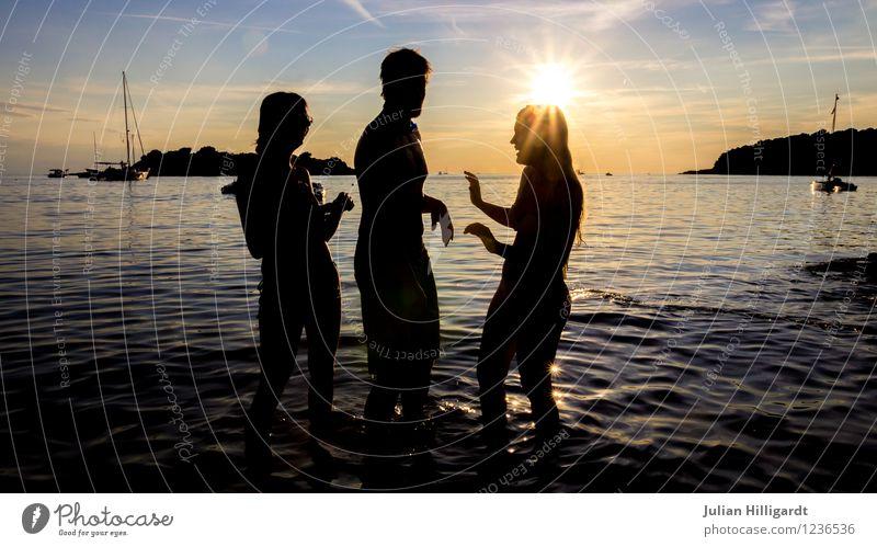 sundance Mensch Himmel Natur Ferien & Urlaub & Reisen Jugendliche Meer Landschaft Ferne 18-30 Jahre Strand Erwachsene Umwelt Leben Gefühle Freiheit