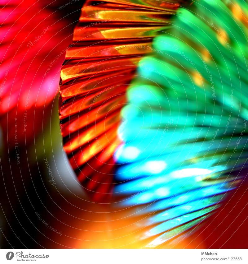 Schimmer grün blau rot Freude gelb Party Feste & Feiern glänzend gold Silvester u. Neujahr Dekoration & Verzierung mehrfarbig Karneval Club türkis Reflexion & Spiegelung