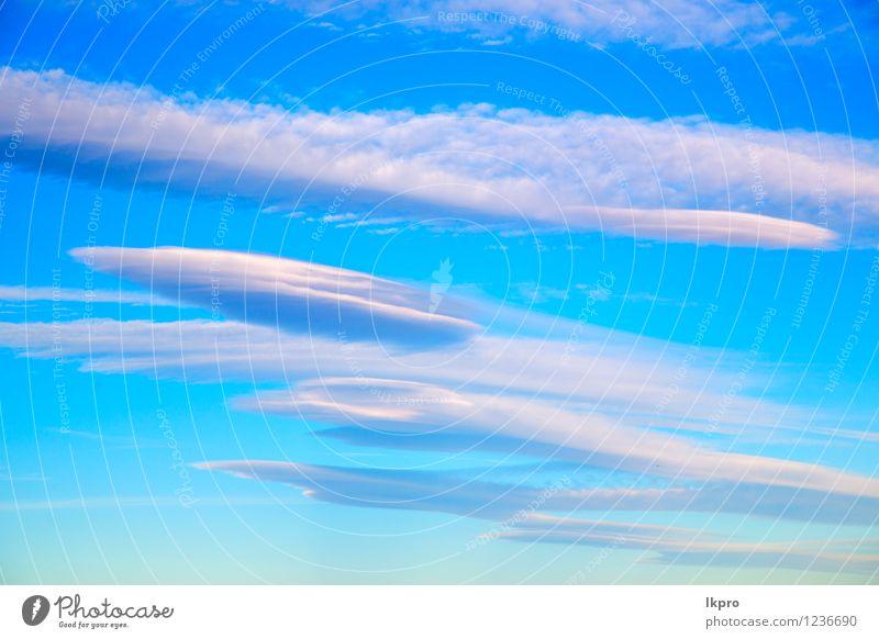 im blauen Himmel weiß weich Natur Himmel (Jenseits) schön Farbe Sonne Wolken Umwelt natürlich Freiheit hell Wetter Luft Dekoration & Verzierung