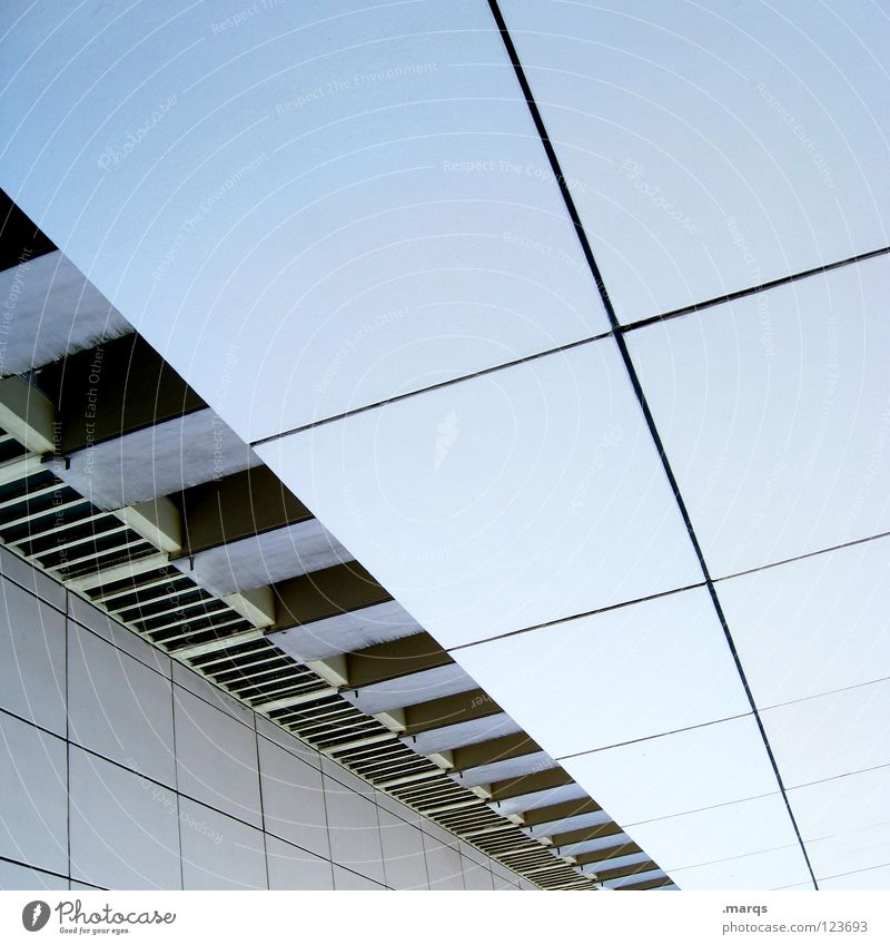 29 blau Stadt Haus Leben Fenster Wand Architektur Linie hell Wohnung Beton hoch Design Hochhaus Baustelle Häusliches Leben