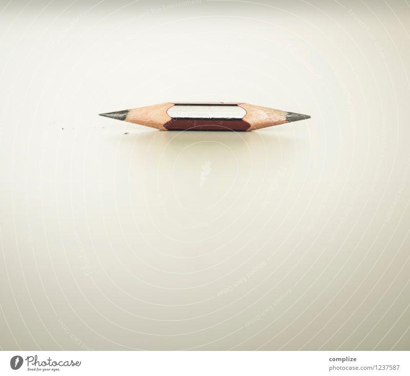 Mal 2 Schreibwaren Papier schreiben Bleistift innovativ Kreativität dual Schreibstift Farbstift Büro Farbfoto Textfreiraum oben Textfreiraum unten Tag