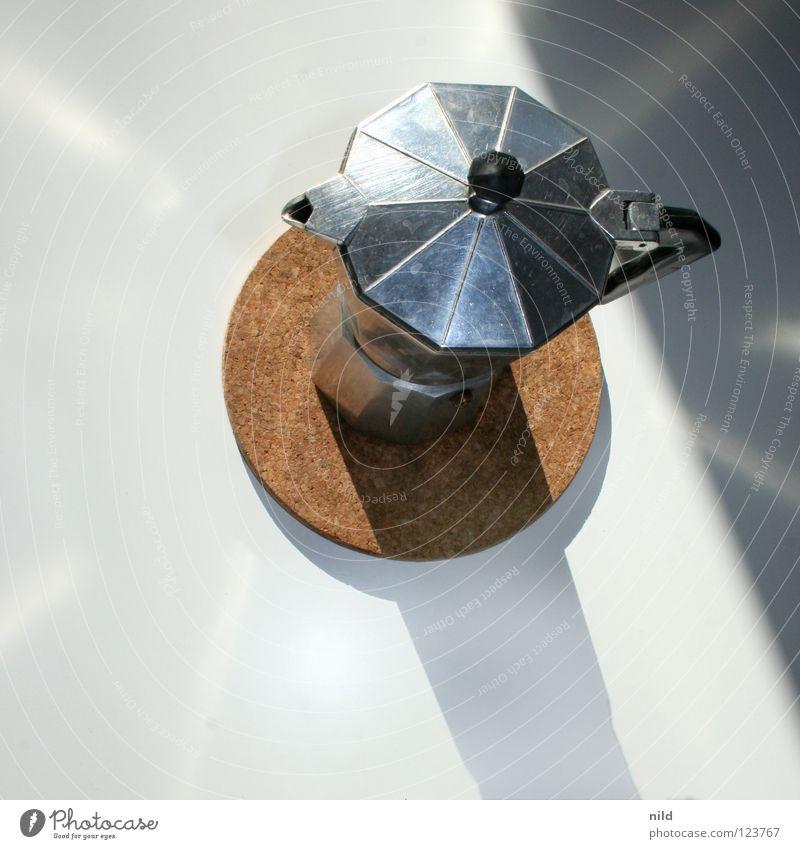 schwarz, stark und vor allem schön lecker II Kaffee Suche Kochen & Garen & Backen einfach Gastronomie Duft Wasserdampf Espresso Aluminium Brunch aufwachen