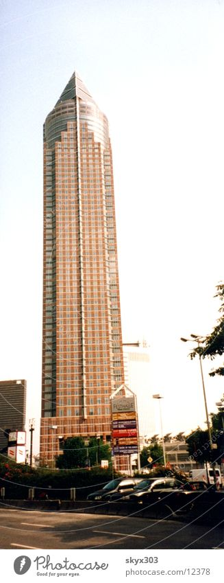 Messe Turm Frankfurt am Main Architektur