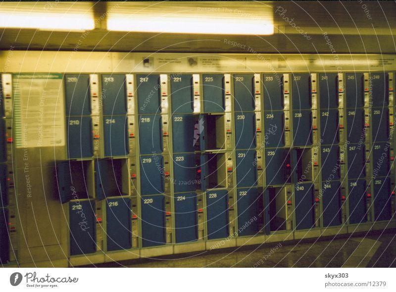 schliessfaecher London Underground Fototechnik
