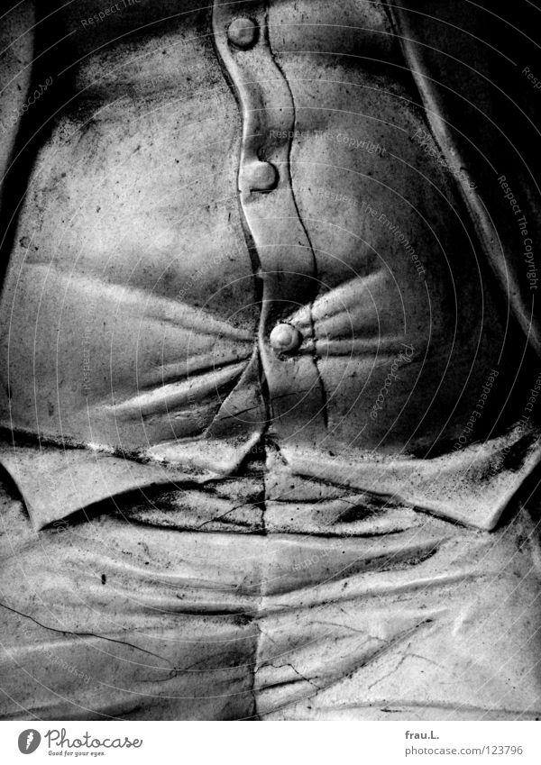 dicker Bauch Weste Knöpfe Hose Jacke Mann genießen Feinschmecker Ernährung Mensch Übergewicht Fett dreckig Falte Elektrizität Genießer Hausmannskost