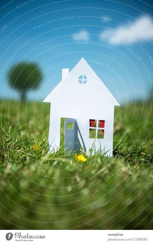 Häuschen im Grünen Freude sparen Ferien & Urlaub & Reisen Sommer Sommerurlaub Häusliches Leben Wohnung Haus Traumhaus Garten Hausbau Umzug (Wohnungswechsel)