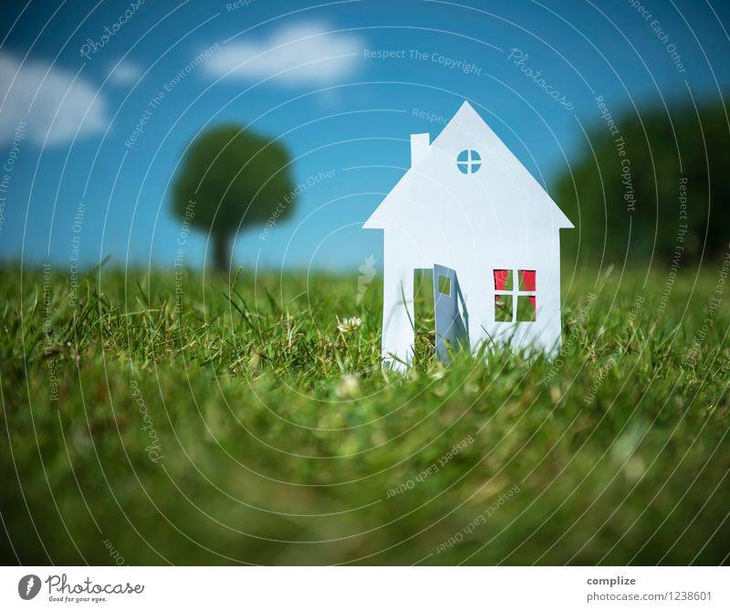 Gesucht: Haus mit Garten Natur Baum Blume Erwachsene Umwelt Wiese Gebäude klein Familie & Verwandtschaft Zufriedenheit Häusliches Leben Klima Baustelle