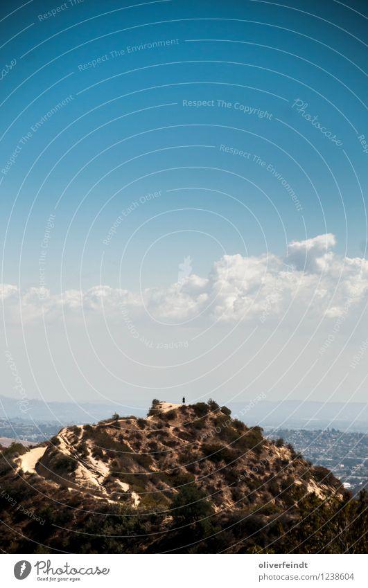 Kalifornien VII Freizeit & Hobby Ferien & Urlaub & Reisen Tourismus Ausflug Abenteuer Ferne Freiheit Sommer Sommerurlaub Berge u. Gebirge wandern Mensch 1