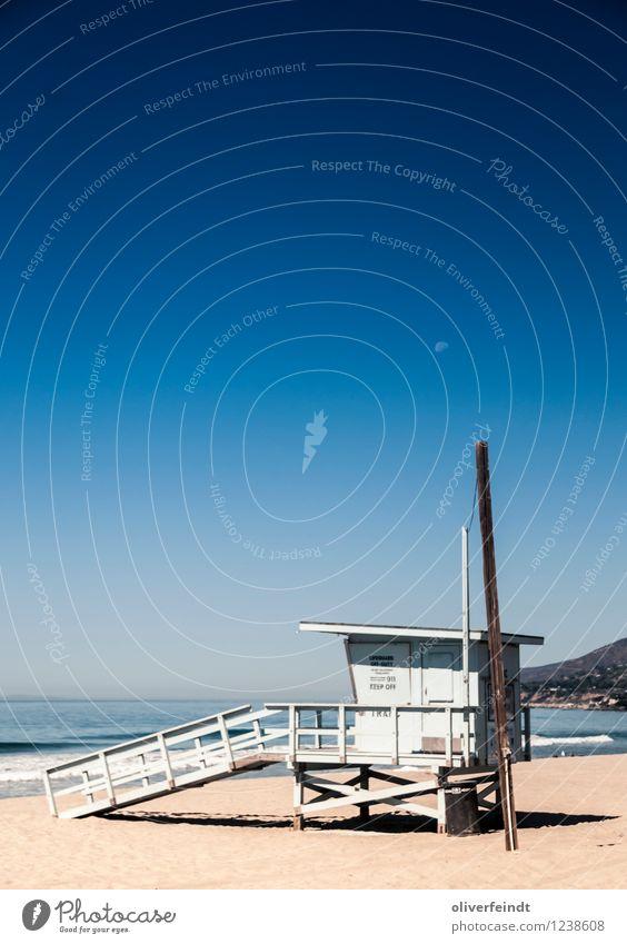 Kalifornien IV Himmel Natur Ferien & Urlaub & Reisen Sommer Meer Landschaft Ferne Strand Umwelt Küste Gebäude Freiheit Horizont Freizeit & Hobby Wetter Wellen