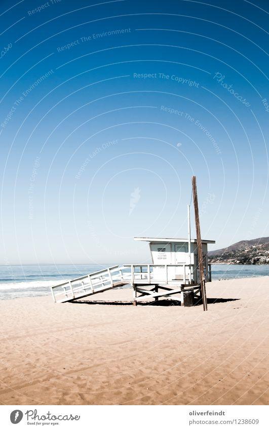 Kalifornien VIII Himmel Natur Ferien & Urlaub & Reisen Sommer Meer Landschaft Ferne Strand Umwelt Wärme Küste Freiheit Sand Horizont Freizeit & Hobby Wellen