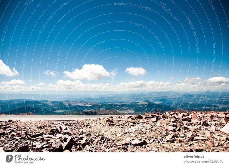 Pikes Peak Himmel Natur Ferien & Urlaub & Reisen Sommer Landschaft Wolken Ferne Berge u. Gebirge Umwelt Wärme Freiheit Felsen Horizont Freizeit & Hobby Wetter