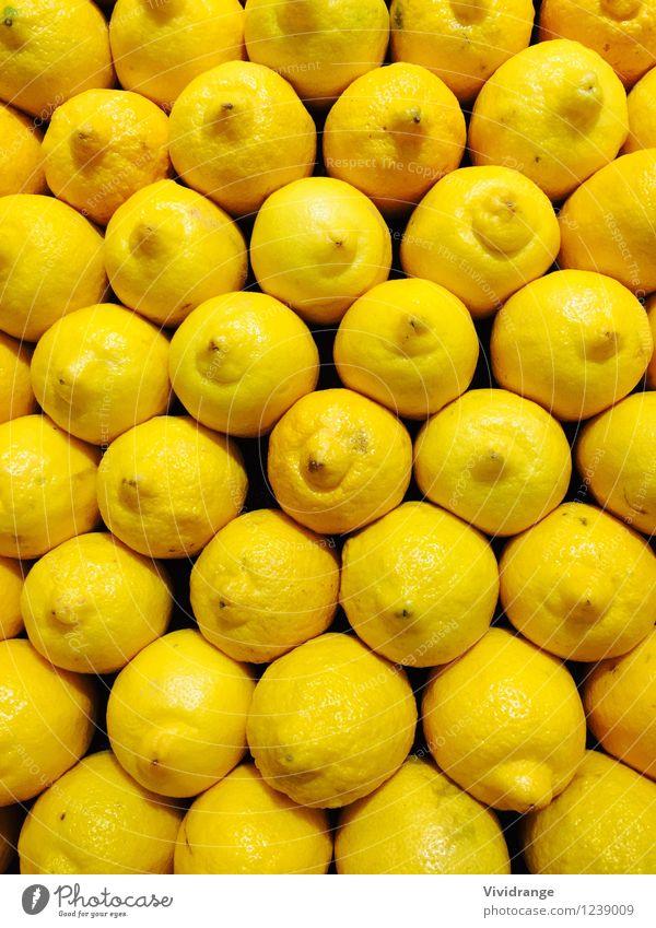 Gelbe Zitronen Lebensmittel Frucht Ernährung Essen Bioprodukte Vegetarische Ernährung Diät Limonade Gesundheit Landwirtschaft Forstwirtschaft Pflanze