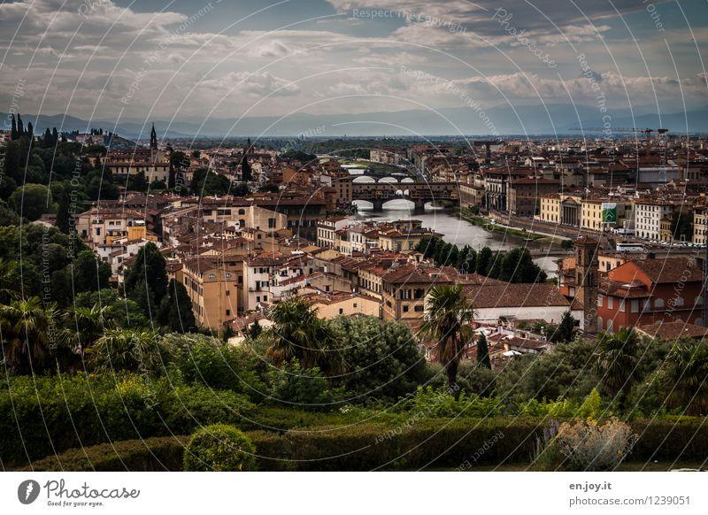 kostenlos Himmel Ferien & Urlaub & Reisen Stadt Sommer Wolken Haus Ferne Umwelt Horizont Park Tourismus Ausflug Lebensfreude Italien Brücke Fluss