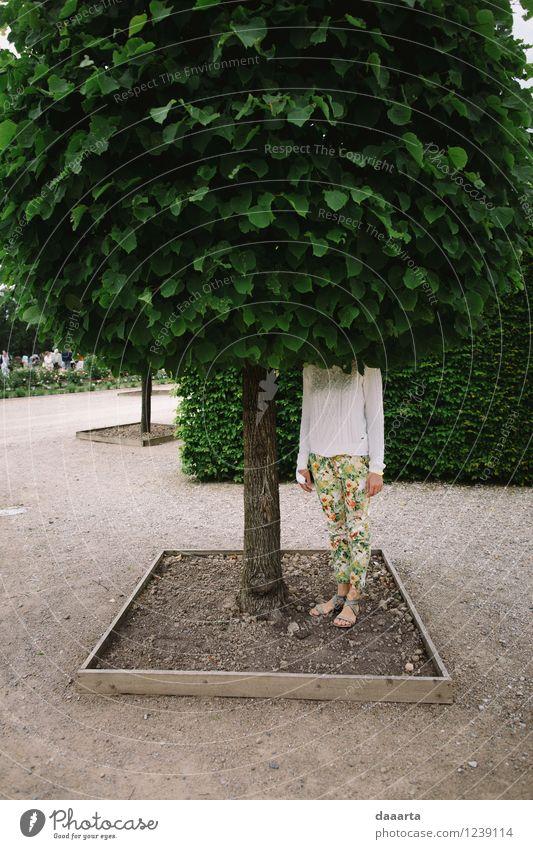 Natur Ferien & Urlaub & Reisen Sommer Baum Freude Wärme Leben feminin Stil Spielen Freiheit Lifestyle Stimmung Sand Freizeit & Hobby Design