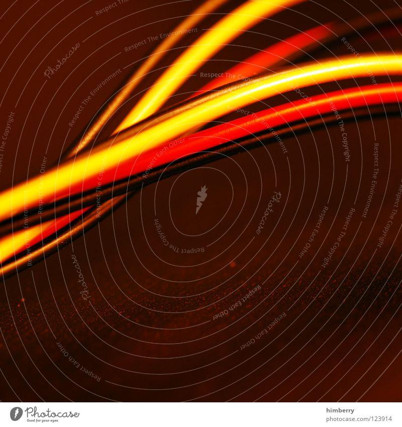 power line down Farbe Deutschland Kraft Kabel Technik & Technologie Wissenschaften Informationstechnologie Draht Leitung Saft Server Hardware Elektrisches Gerät