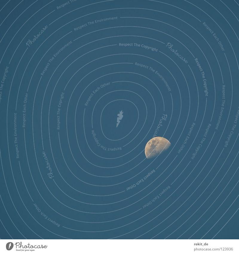 kleiner Erdtrabant Halbmond Vollmond Mondschein Gezeiten Himmelskörper & Weltall NASA Wolf Werwolf Umlaufbahn Ebbe Mondsüchtig Sputnik Apollon Luftverkehr